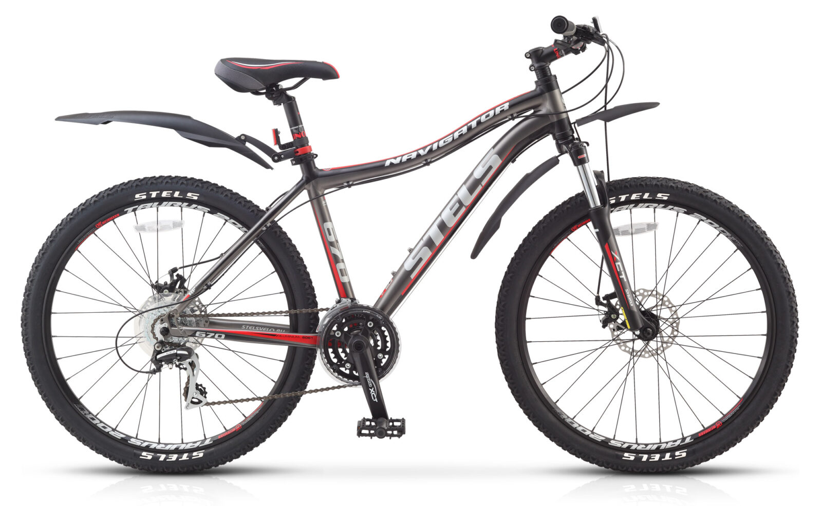 Велосипед Stels Navigator 670 MD (2016)