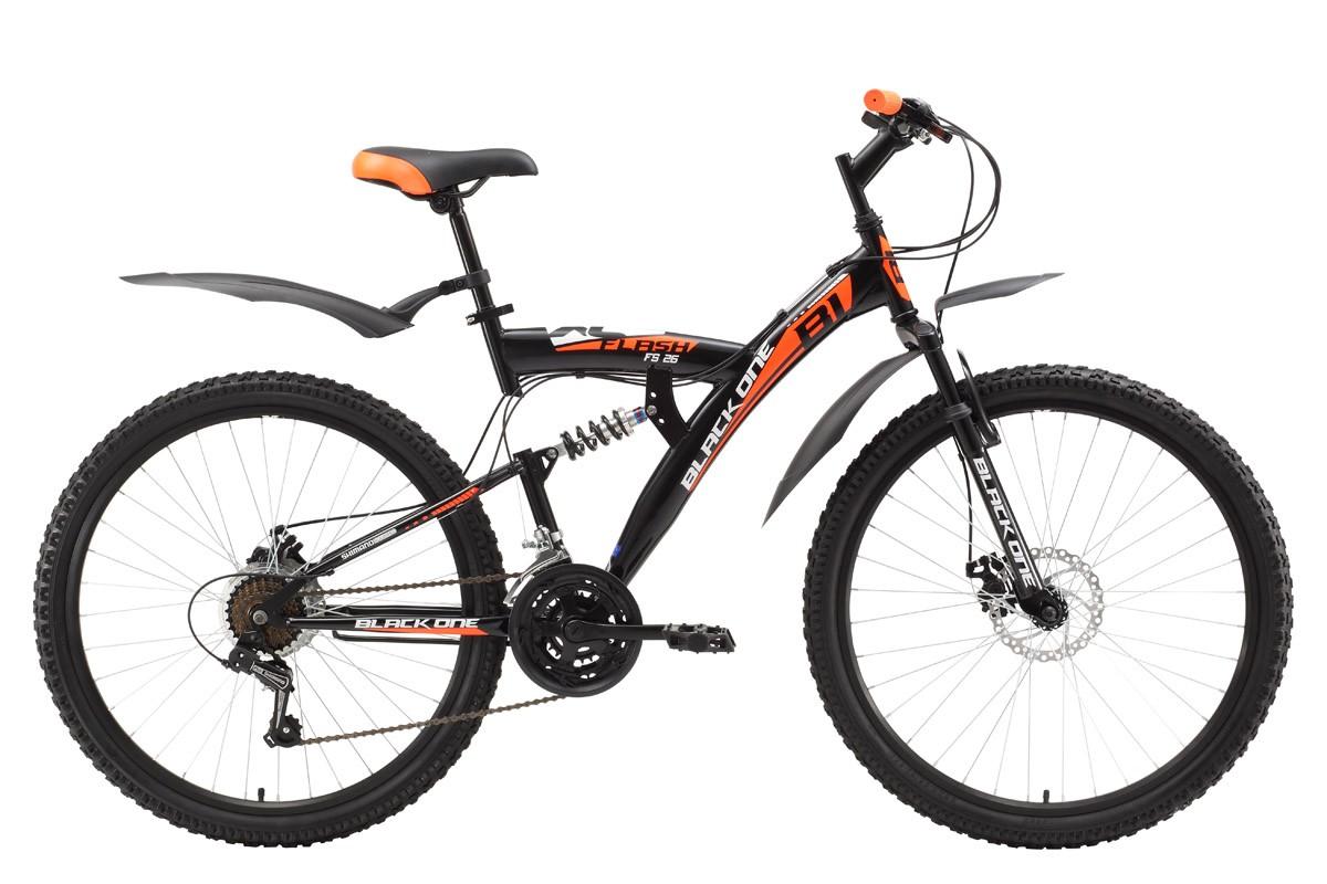 Велосипед Black One Flash FS 26 D (2017)