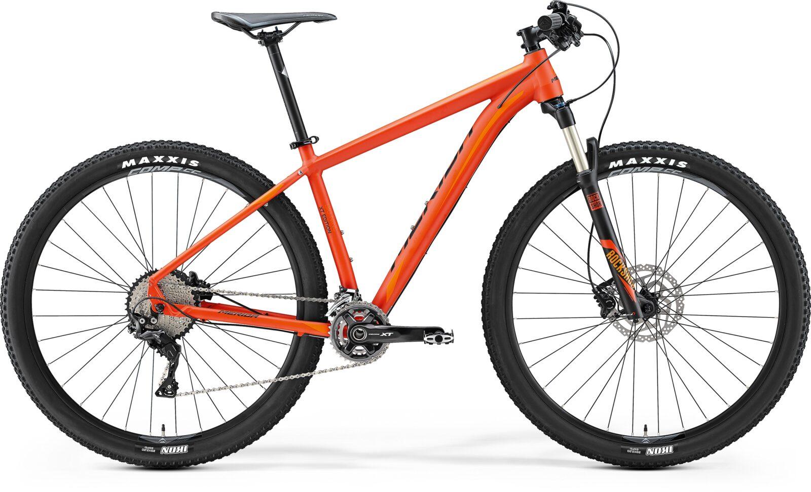 Велосипед Merida Big.Nine XT Edition (2017)