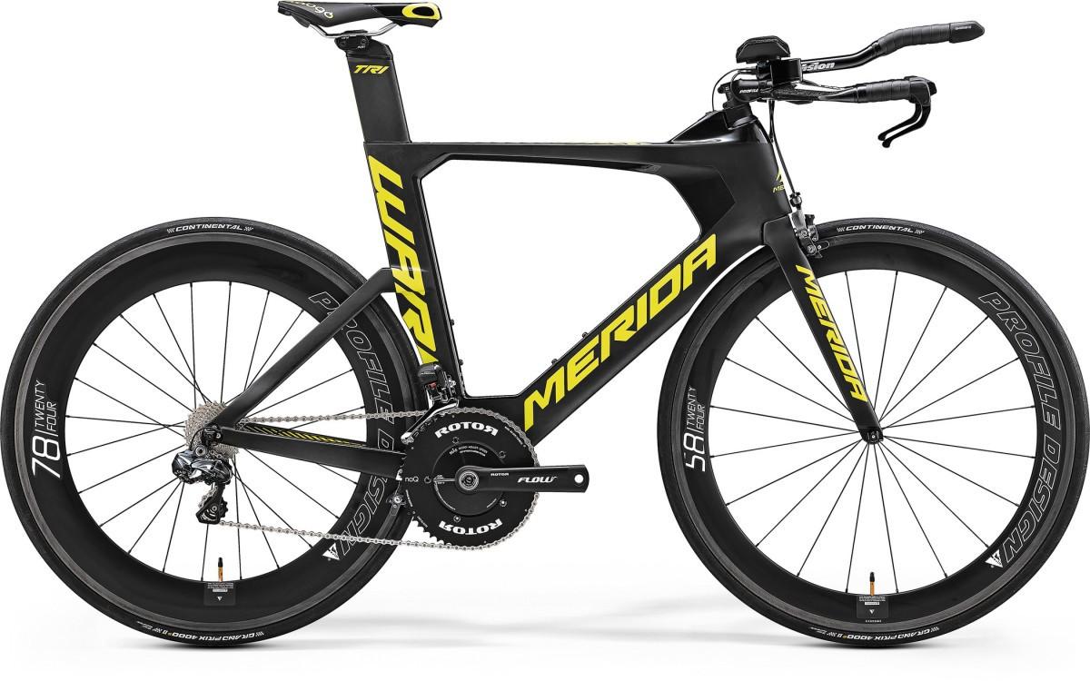 Велосипед Merida Warp TRI 7000-E (2017)
