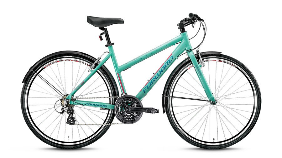 Женский велосипед Forward Corsica 1.0 (2016)