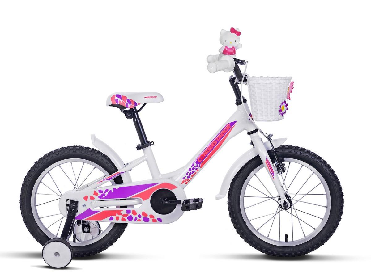 Детский велосипед Conquistador Snow 16 (2016)