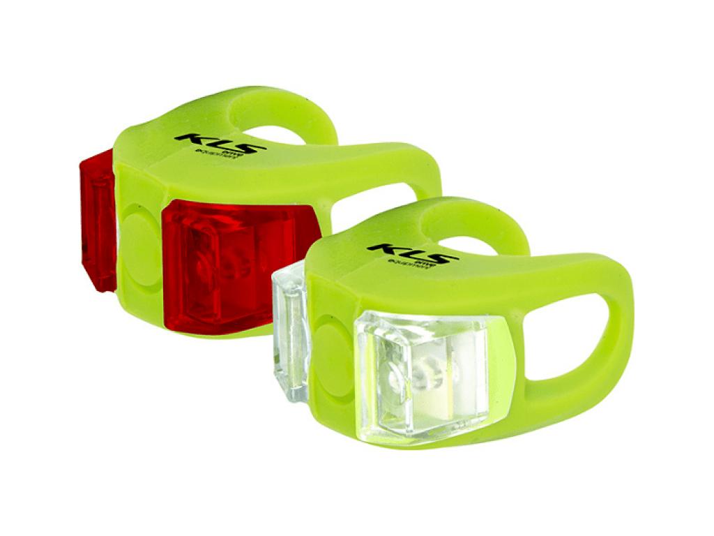 Фонари комплект TWINS, зелёный