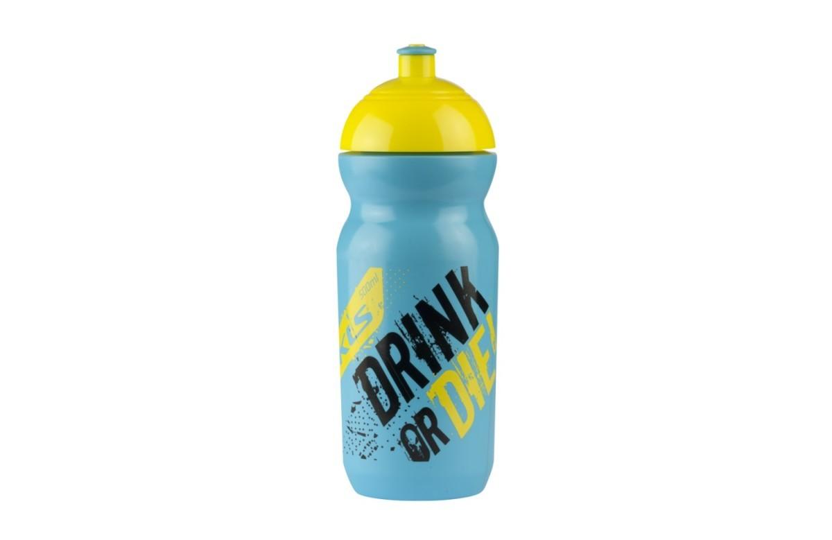 Велофляга Kellys Gobi raw 0,5 л., жёлто-голубой