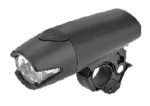 Фонарь передний JY-840-2 черный