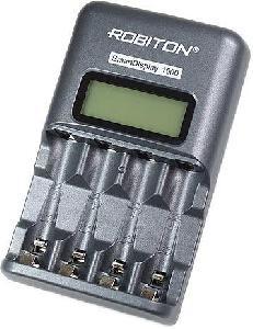 Зарядное устройство Robiton SmartDisplay 1000, серый