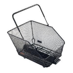 Корзина на багажник Bontrager Wire Mesh Rear Basket Black 33x39x29см с логотипом Trek
