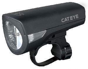 Фонарь передний Cat Eye HL-EL340GRC Black w/changer
