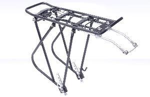 Велобагажник 24-28 BLF-H5 регулируемый алюминиевый чёрный
