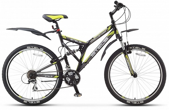 Двухподвесный велосипед Stels Challenger V 26 V010 (2018)