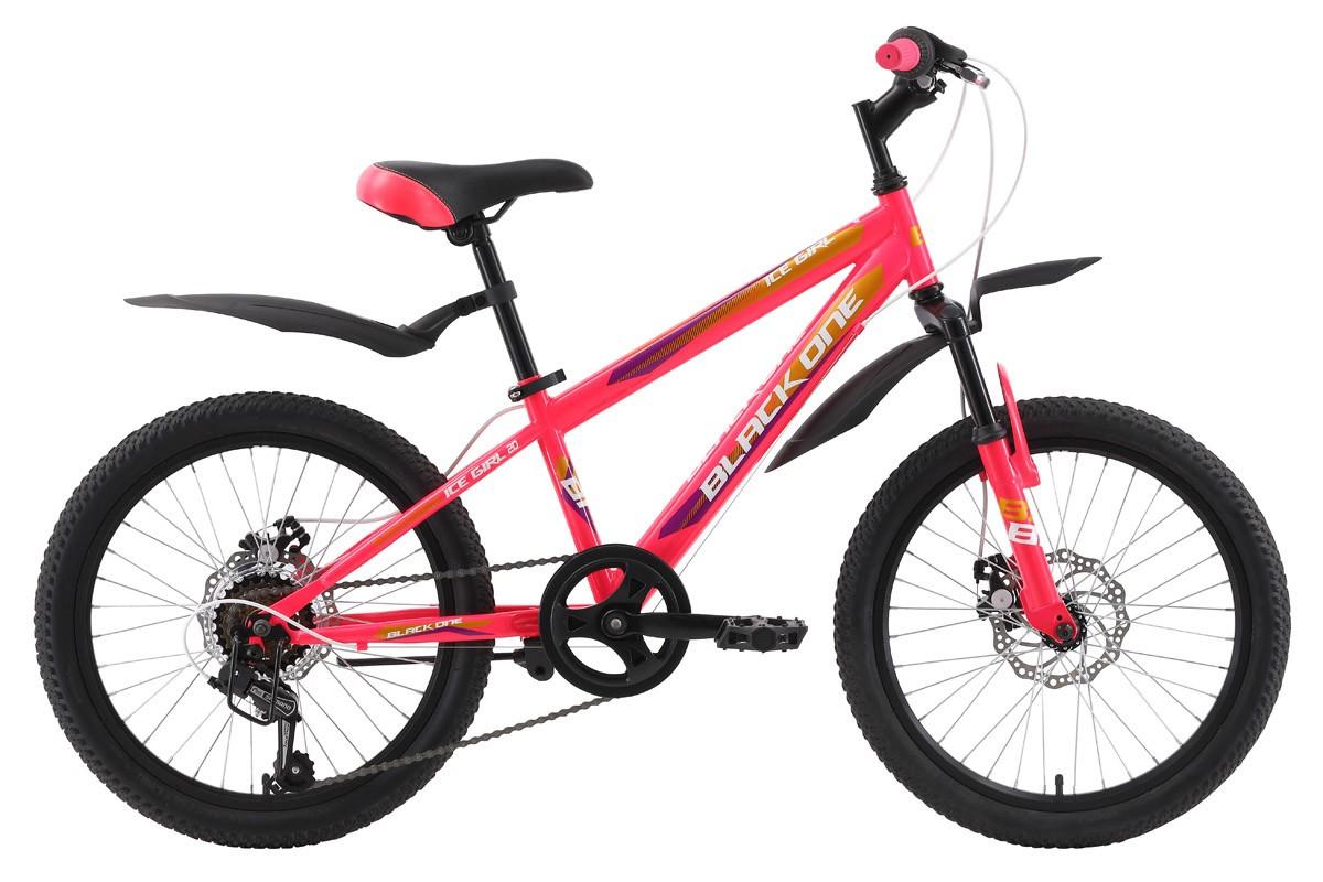 Велосипед Black One ICE Girl 20 D (2018)