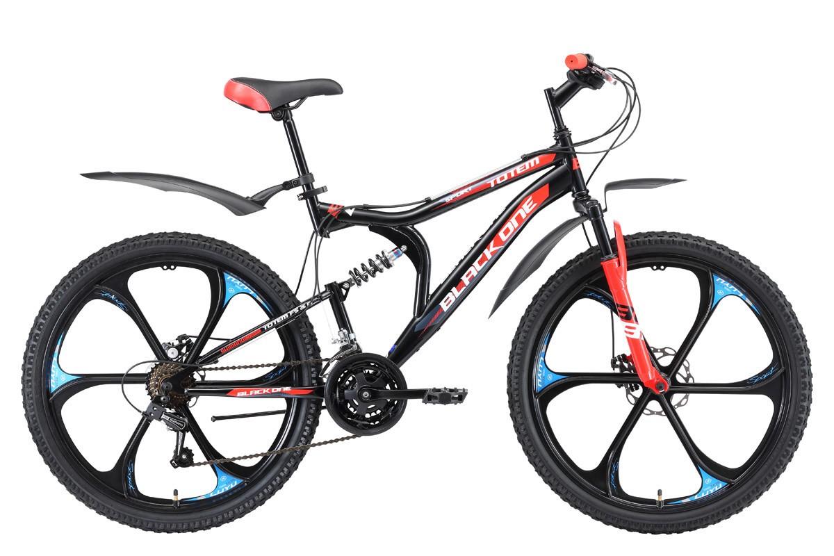 Велосипед Black One Totem FS 26 D (2018)