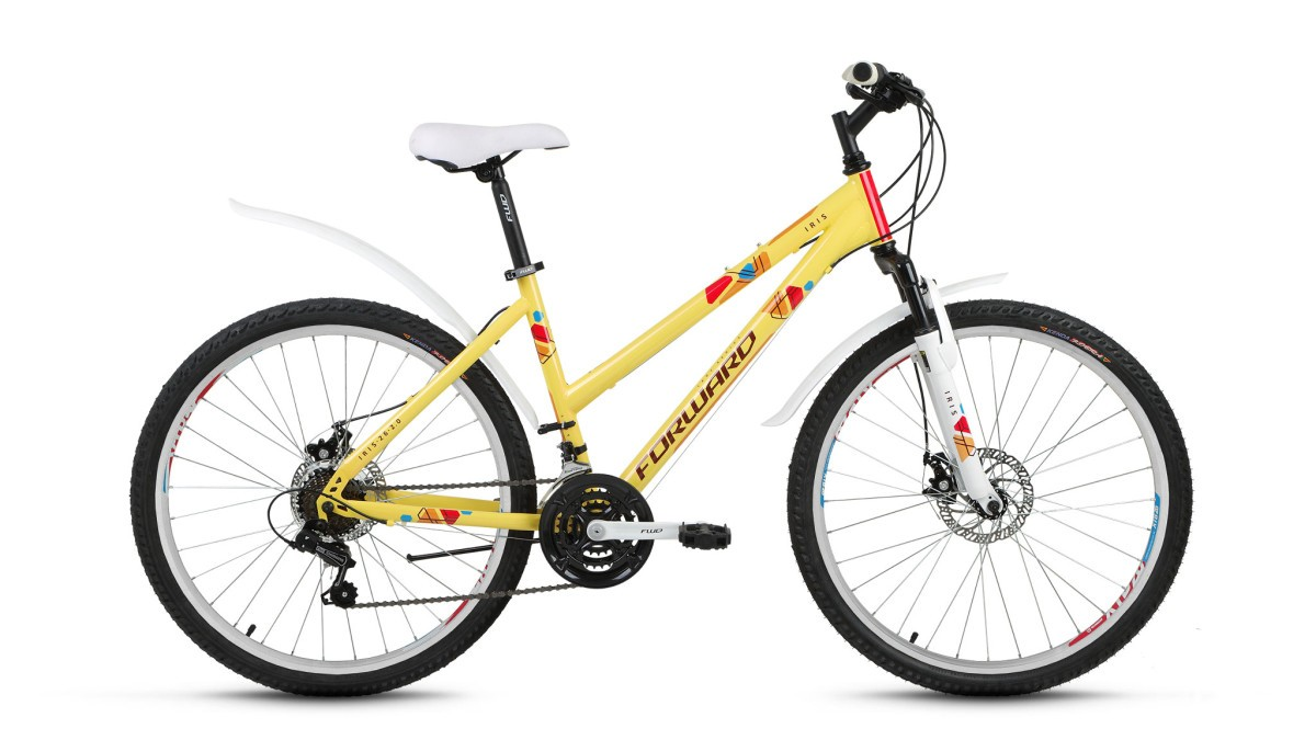 Велосипед Forward IRIS 26 2.0 disc (2018)