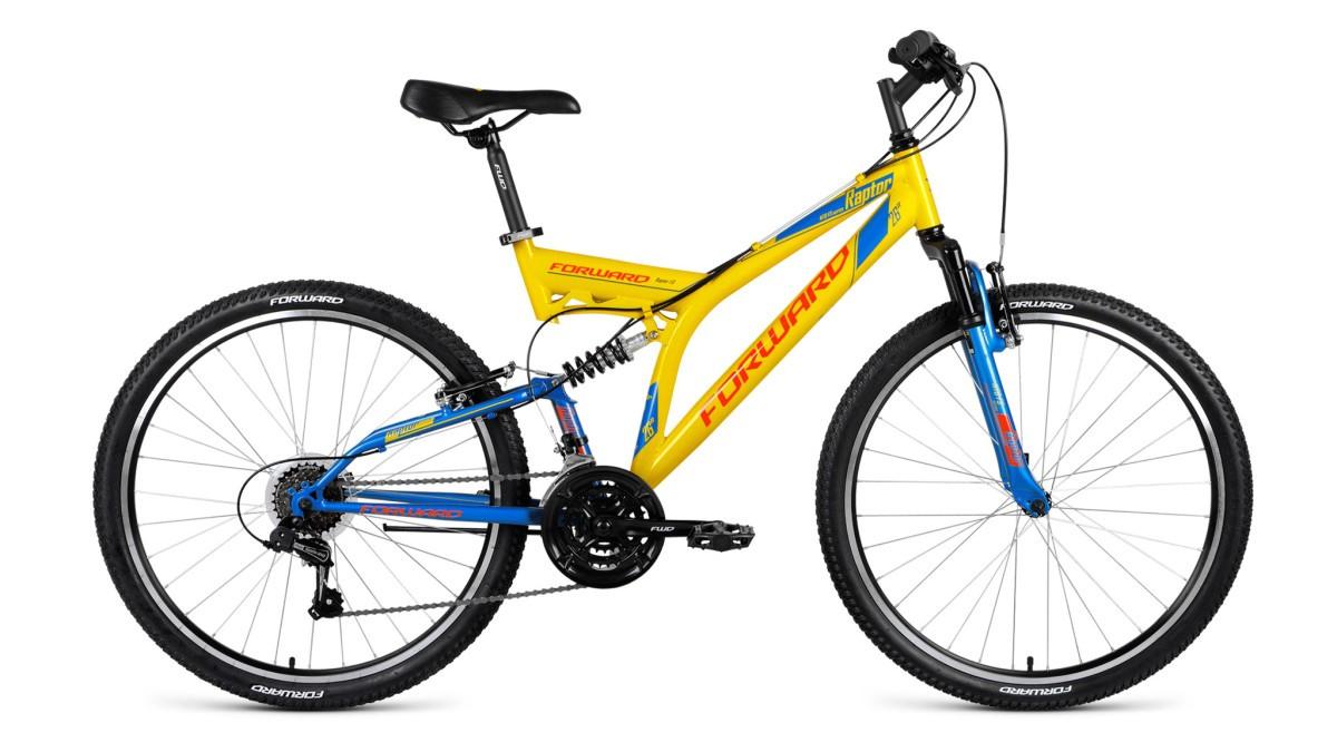Велосипед Forward Raptor 26 1.0 (2018)