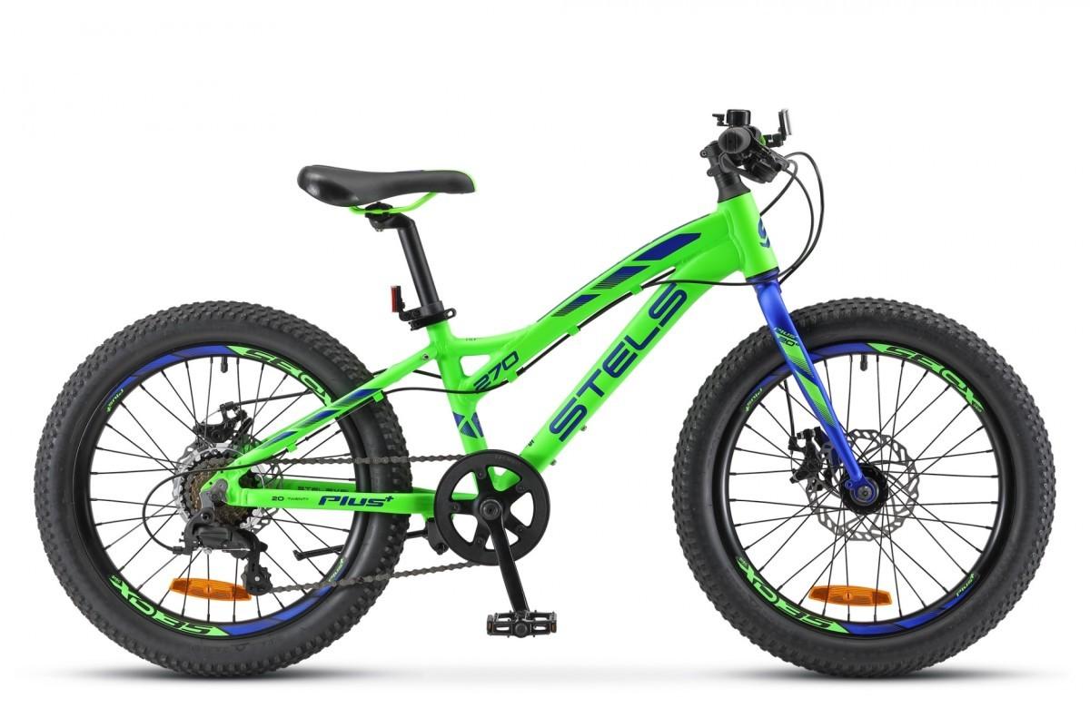 Велосипед Stels Pilot 270 MD 20 + V010 (2018)
