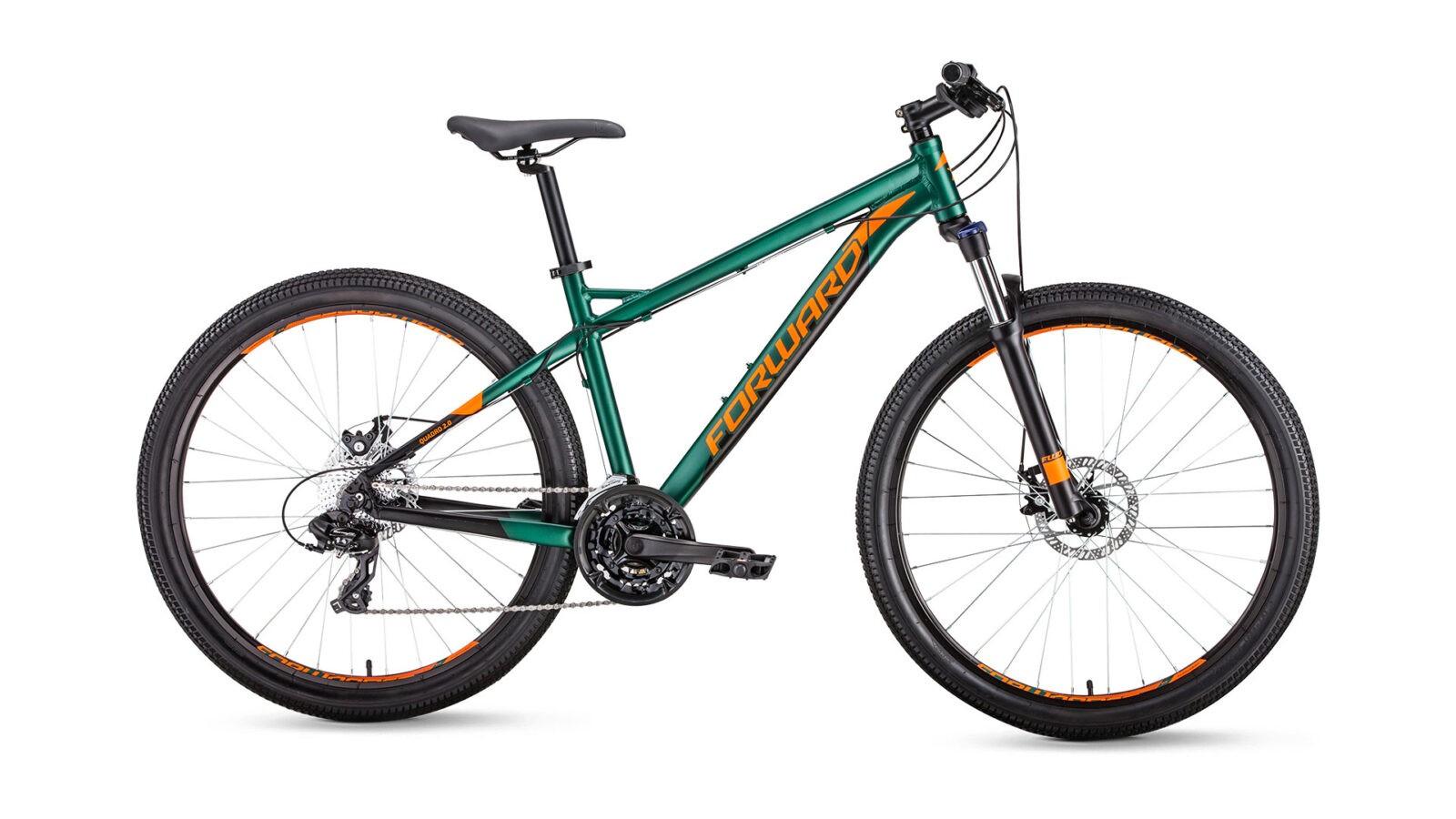 Велосипед Forward Quadro 27,5 2.0 disc (2019)