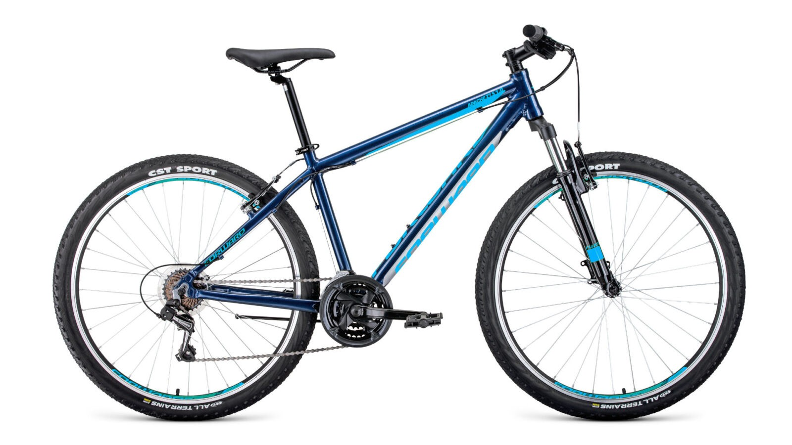 Велосипед Forward Apache 27.5 1.0 (2020)