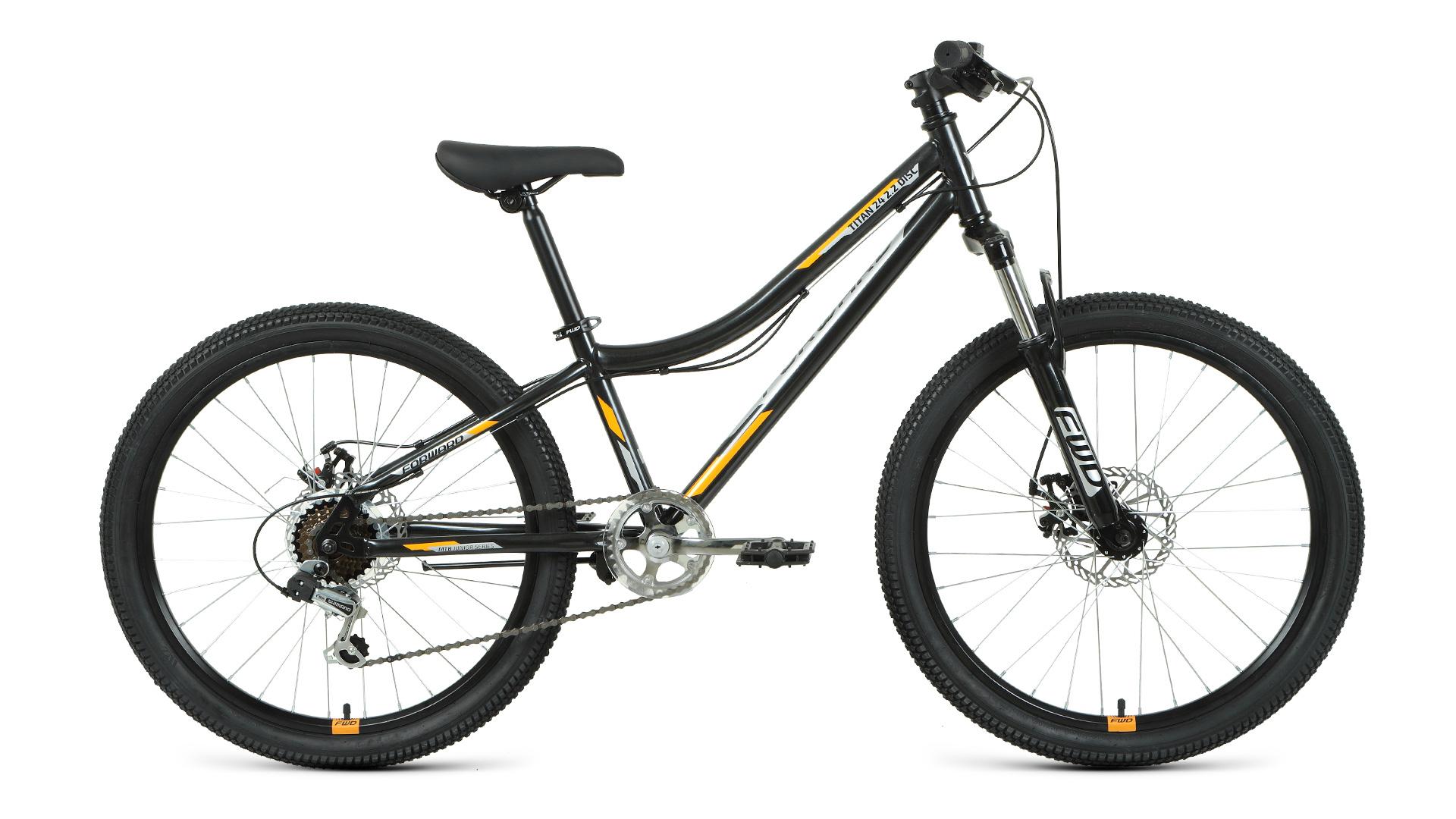 Велосипед Forward TITAN 24 2.2 disc (2021)