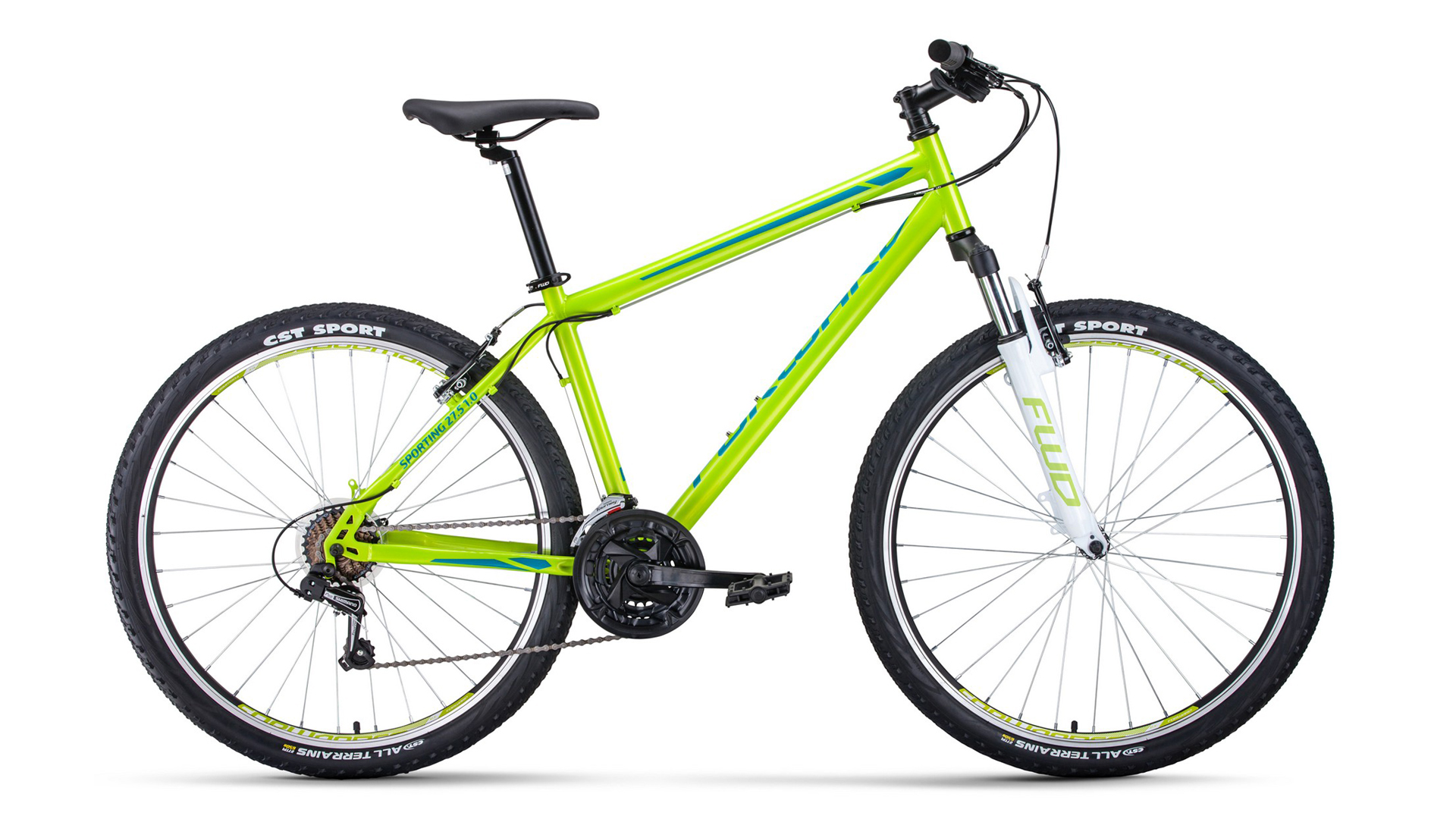 Велосипед Forward Sporting 27.5 1.0 (2021)