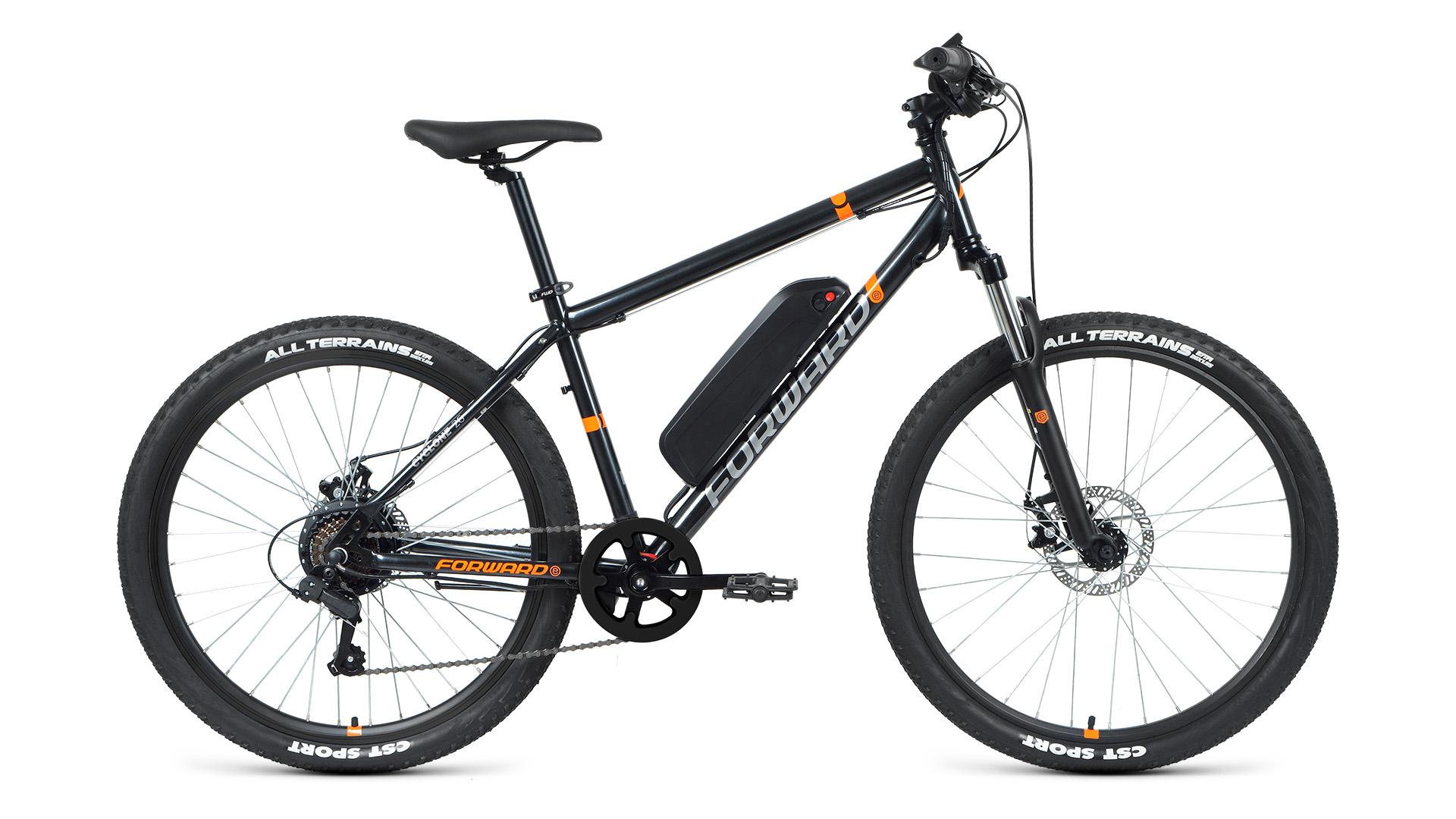 Электровелосипед Forward Cyclone 26 2.0 disc 250w (2021)