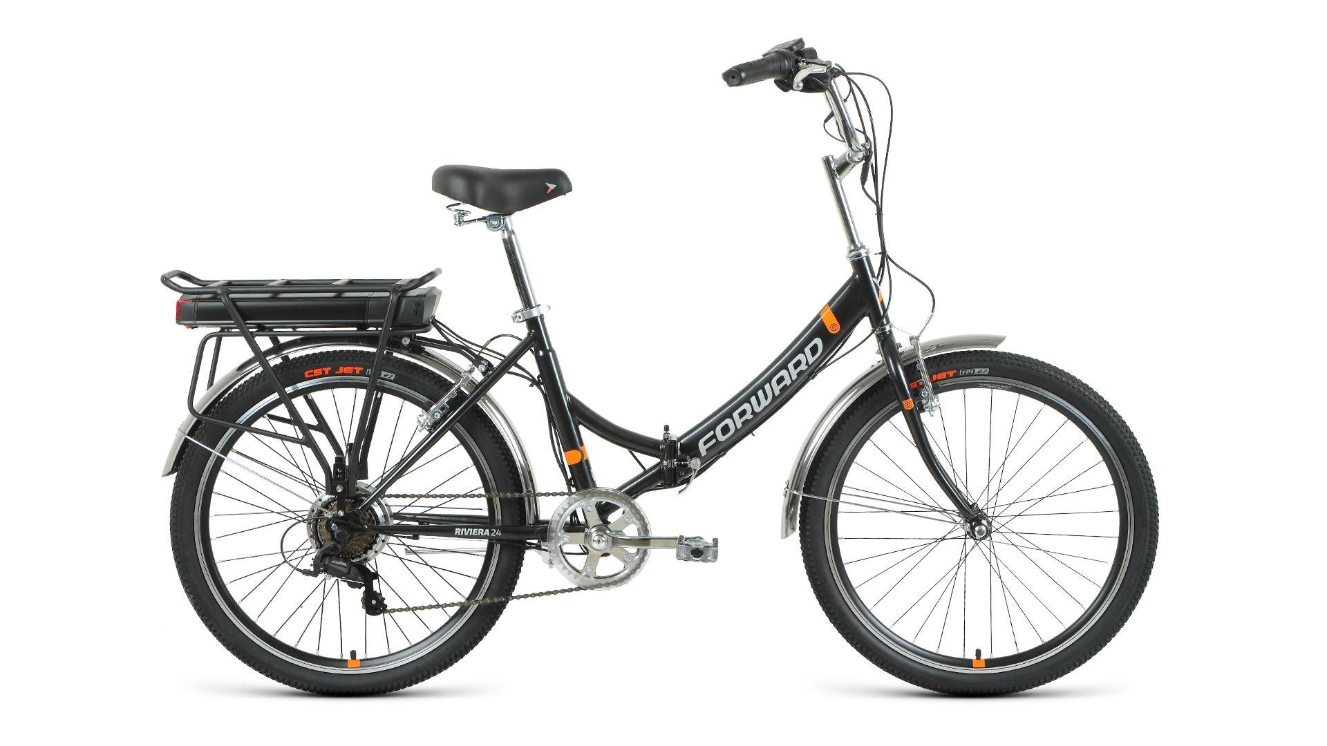 Электровелосипед Forward Riviera 24 250w (2021)