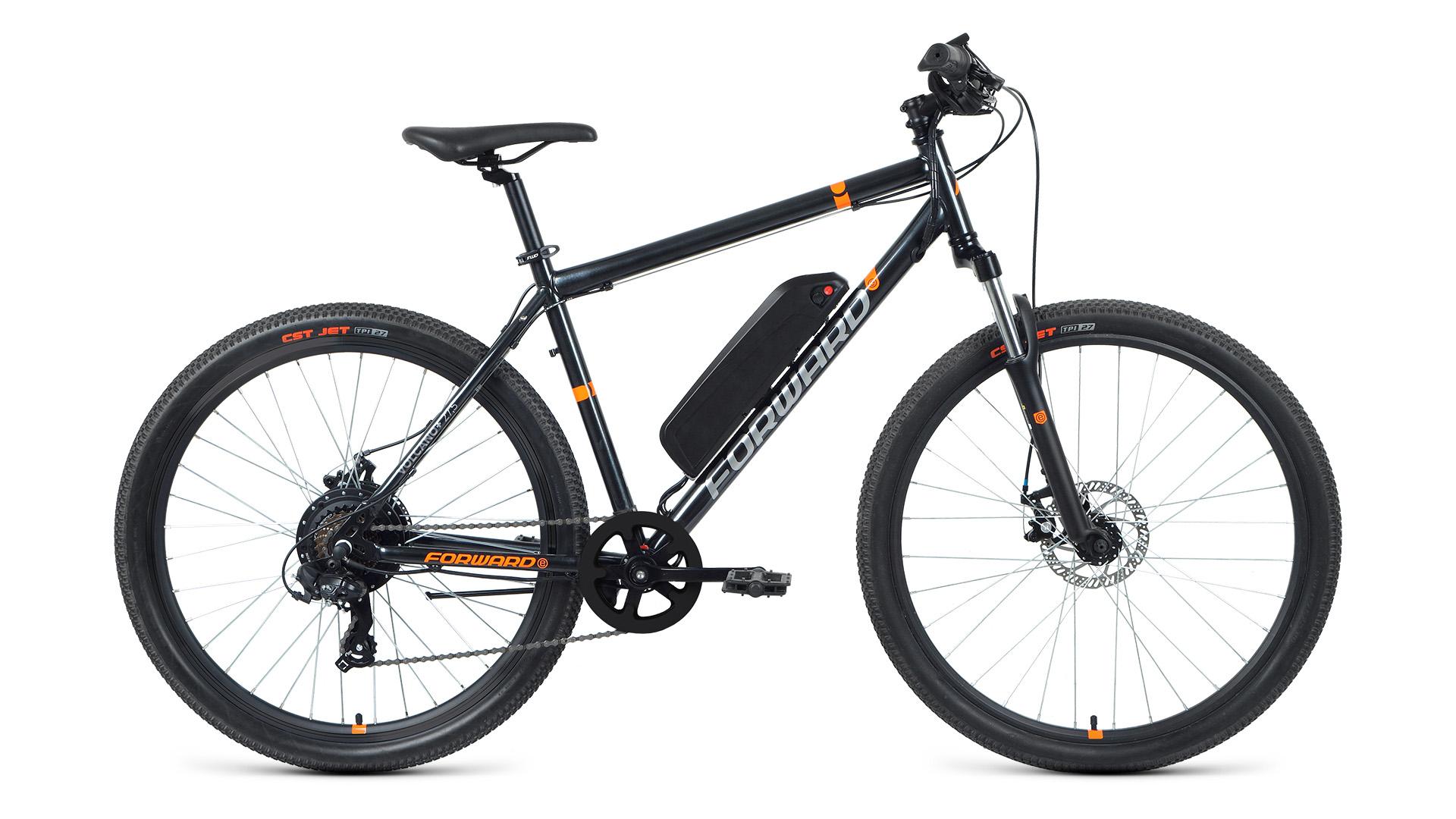 Электровелосипед Forward Volcano Plus 27.5 2.0 disc 500w (2021)