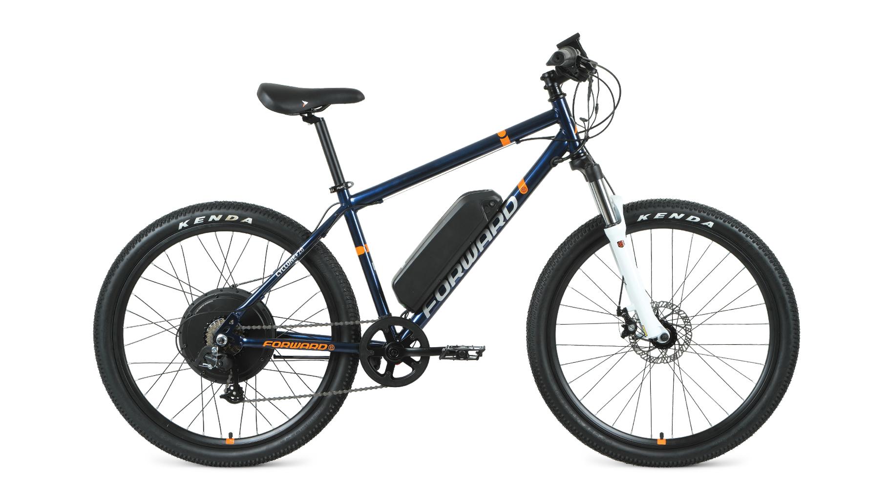 Электровелосипед Forward Cyclone Plus 26 2.0 disc 500w (2021)