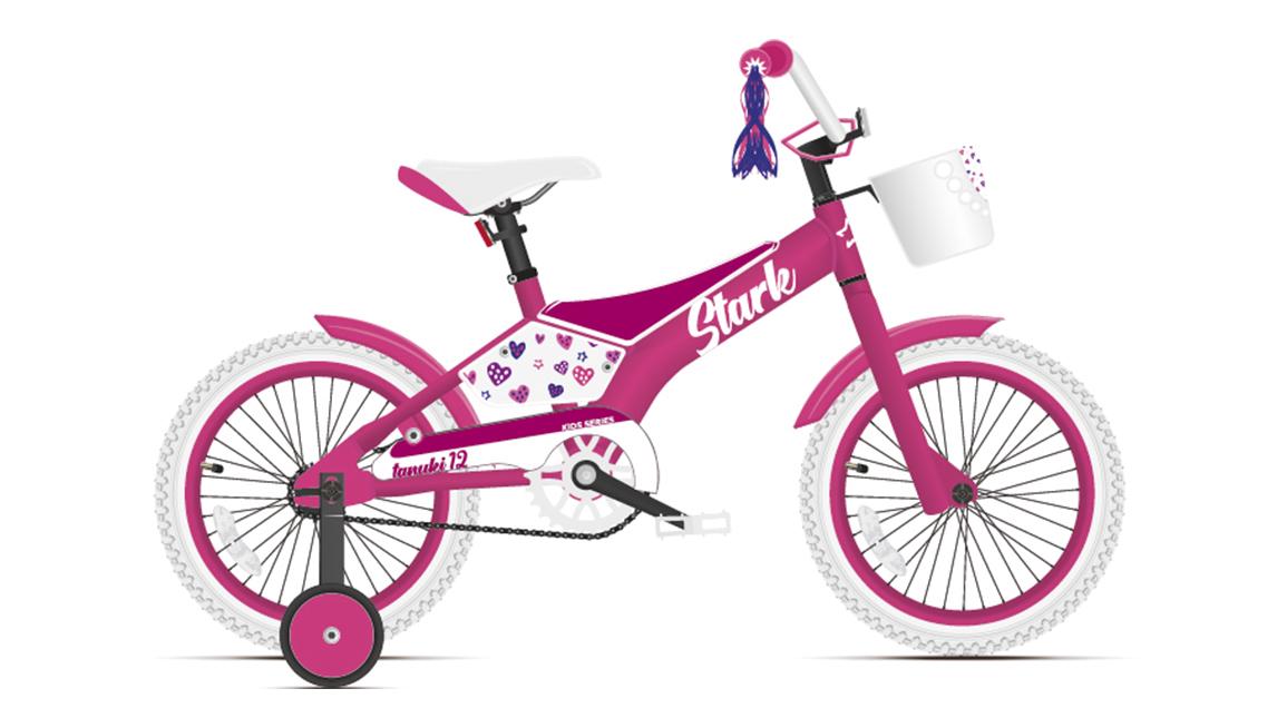 Велосипед Stark Tanuki 12 Girl (2021)