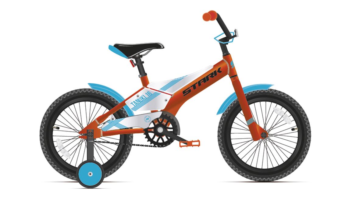 Велосипед Stark Tanuki 16 Boy (2021)