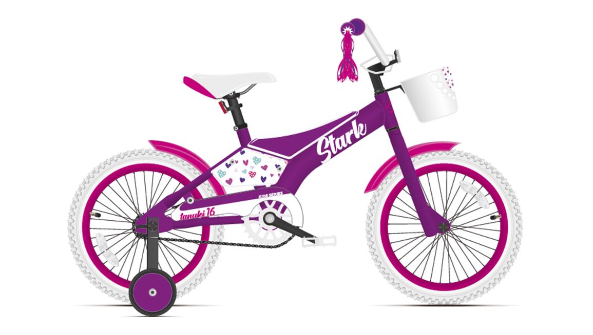 Велосипед Stark Tanuki 16 Girl (2021)